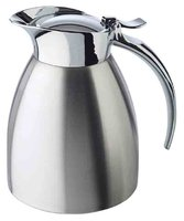 APS Isolierkanne -ADVANCED-, Ø10,5 cm, H:13 cm, 0,3 Liter, 18/8 Edelstahl, mattiert