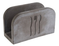 APS Serviettenhalter -ELEMENT-, 16 x 7,5 cm, H:10 cm, Beton